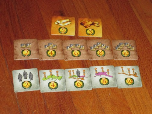 The reward tiles.