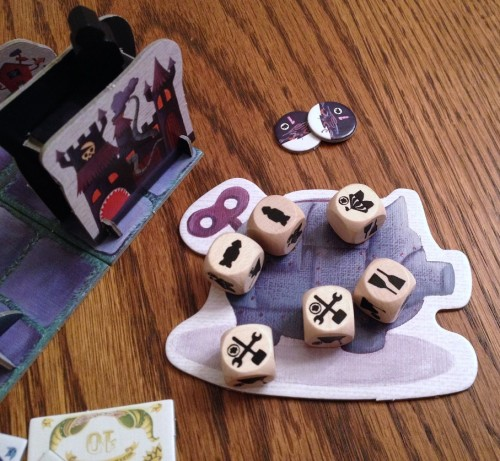 Steam Park dice roll phase
