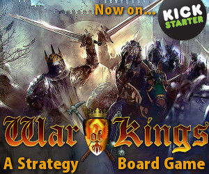 War of Kings on Kickstarter