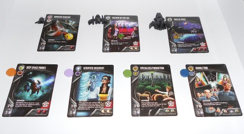 Eminent Domain: Escalation - Tech Cards