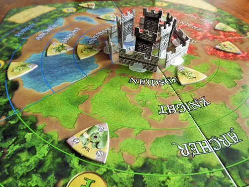 Castle Panic Full Castles and Walls