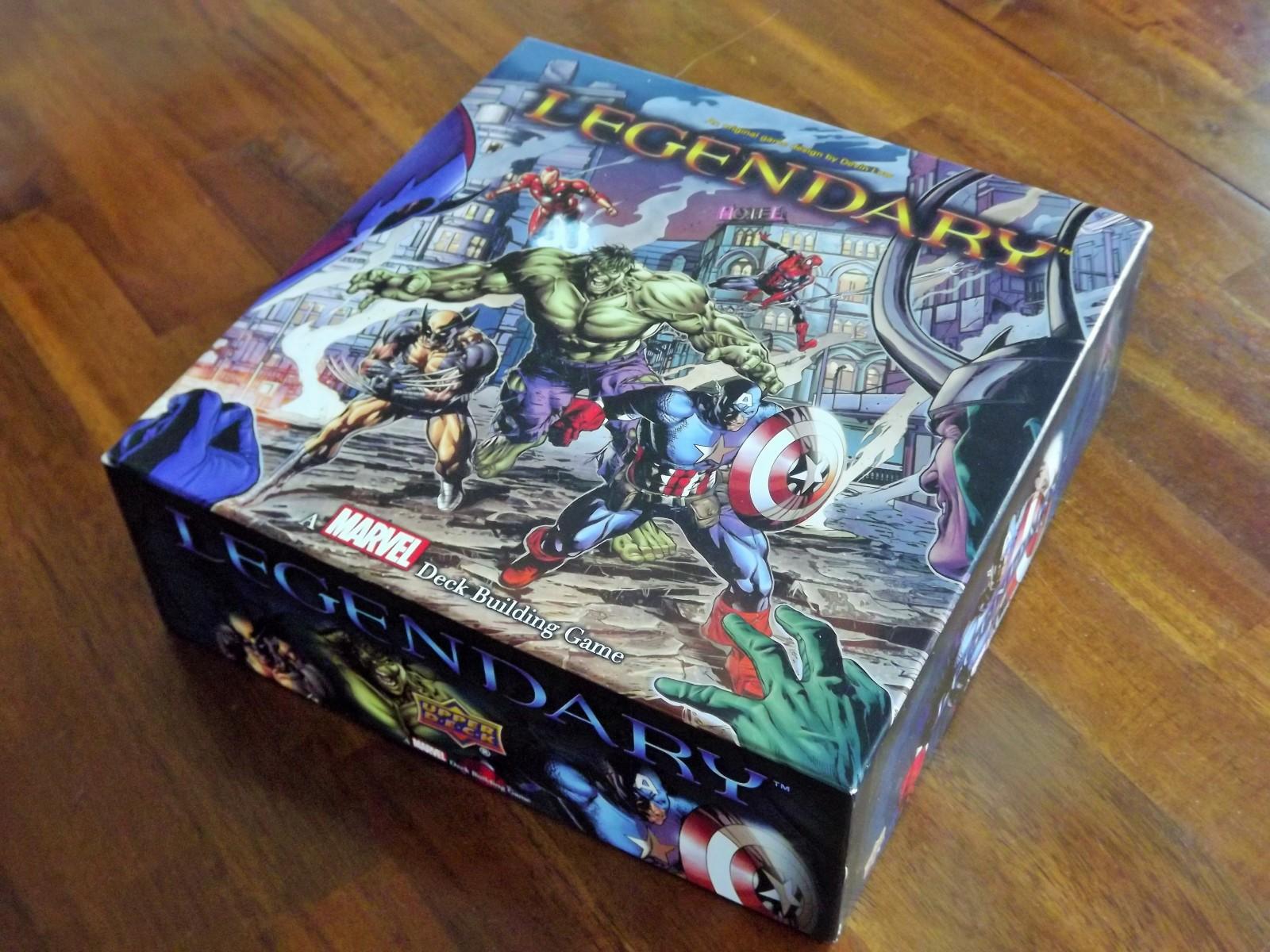 Marvel Legendary Deck Building Game X Men Whose Inside