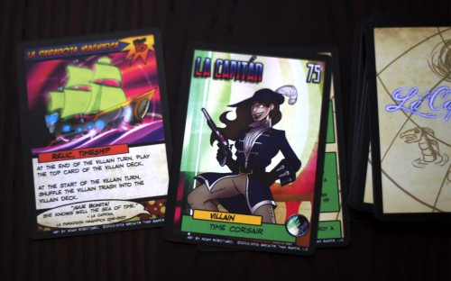Probably my favorite villain from the box. Time travelling lady pirate.