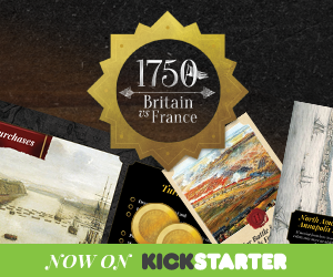 1750: Britain vs France on Kickstarter