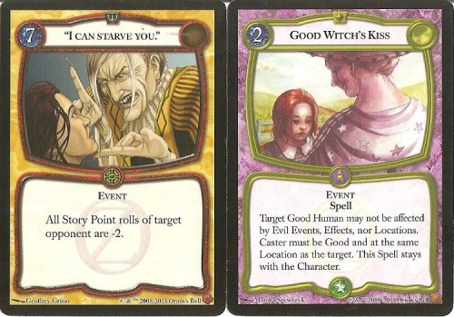 Like other card games, event cards can impact play in various ways and interact with other cards.