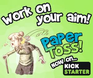 Paper Toss on Kickstarter