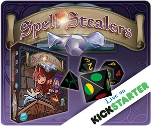 Spell Stealers on Kickstarter