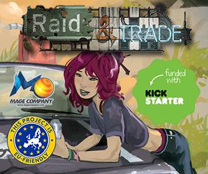 Raid and Trade on Kickstarter