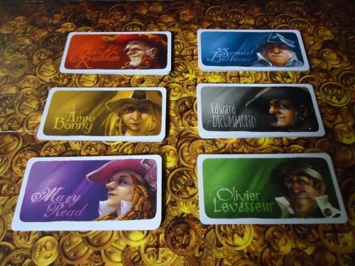 Jamaica Captain Cards