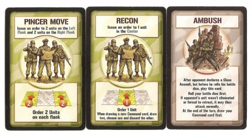 Command and Tactics cards.
