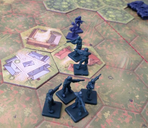 The soldiers of Memoir '44.