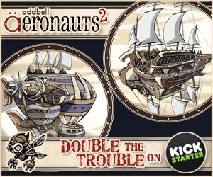 Oddball Aeronauts 2 on Kickstarter