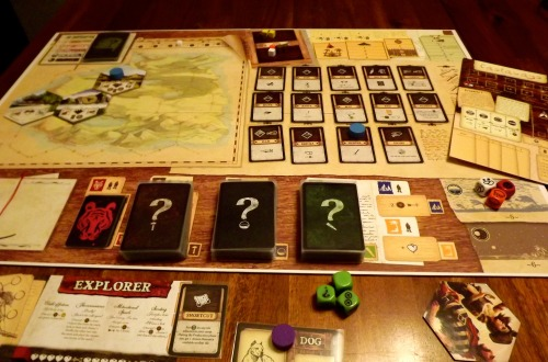 Robinson Crusoe Set Up