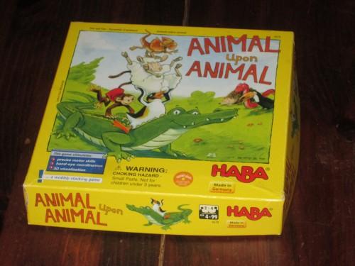 Animal upon Animal box
