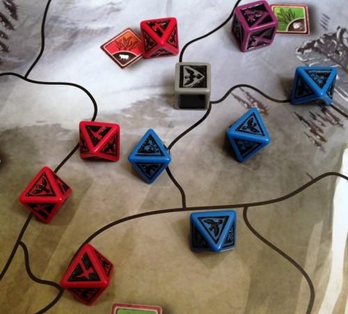 Custom battle dice - get a close look!