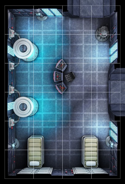 Rendering a vision of Star Wars in Imperial Assault  © Fantasy Flight Games
