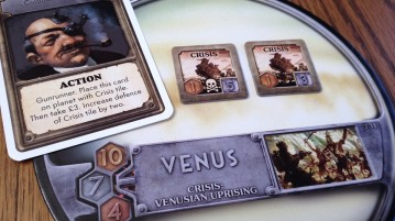 Level 2 crisis on Venus. The natives are revolting. They're always revolting...now they're rebelling!