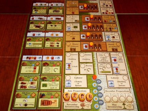 Fields of Arle - Action Board