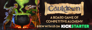 Cauldron on Kickstarter