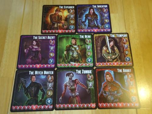 Transylvania Character Cards