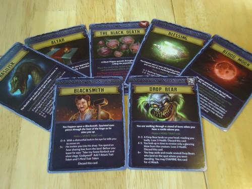 Transylvania Event Cards