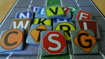 Word on the Street Letter Tiles