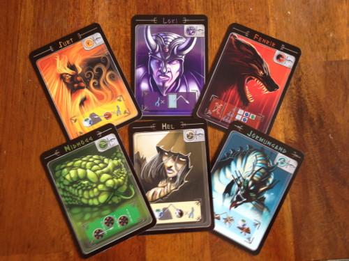Yggdrasil enemy cards