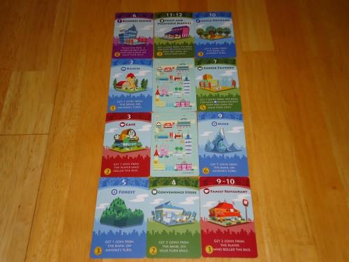 Machi Koro - Cards