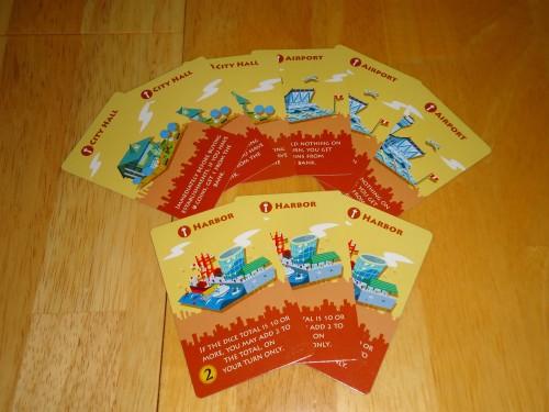 Machi Koro Harbor - Starting Cards