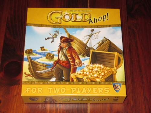 Gold Ahoy box