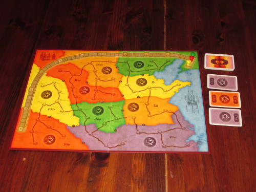 China set up for three players.