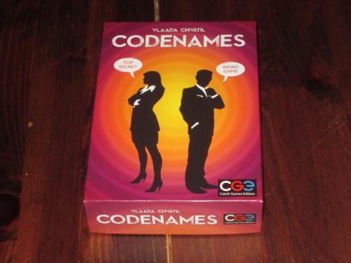 Codenames box