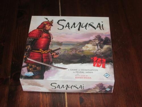 Samurai box cover