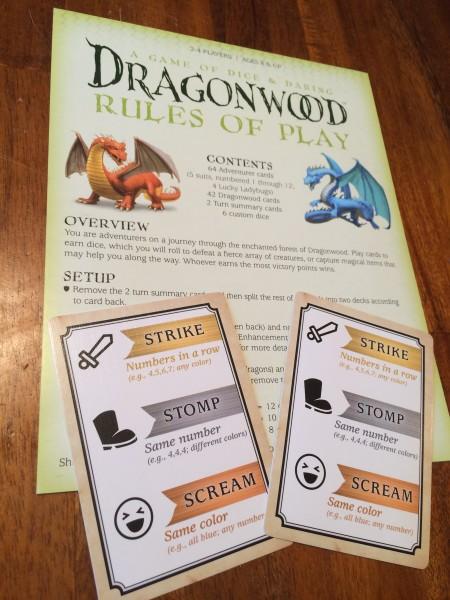 Dragonwood Rules
