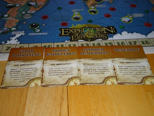 Expedition: Famous Explorers Event Cards