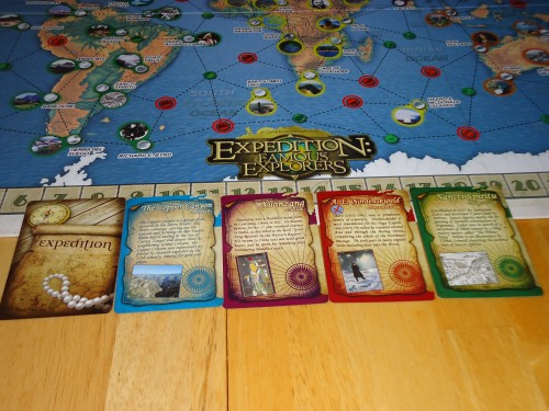 Expedition: Famous Explorers Expedition Cards