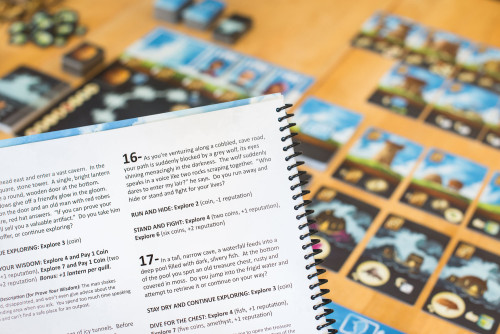 Encounter Book in action