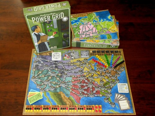 Power Grid - Box and Components