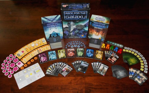 Race For The Galaxy - Box and Components
