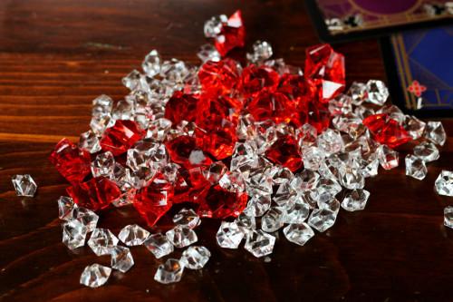 actual diamonds* *not actual diamonds