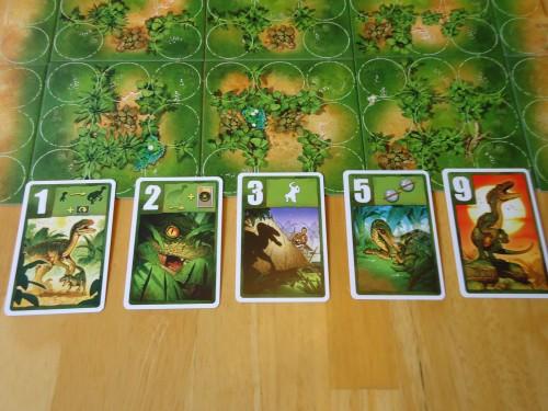 Raptor Dinosaur Cards