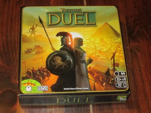 7 Wonders Duel box