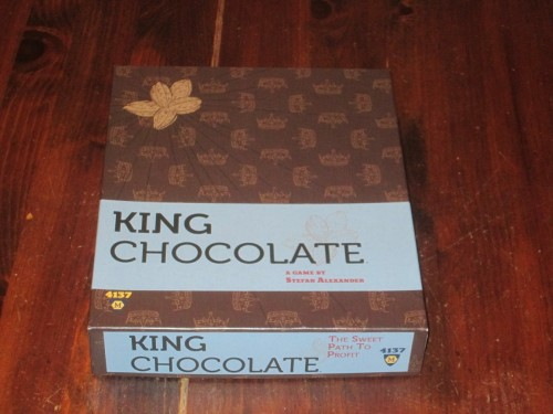 King Chocolate box