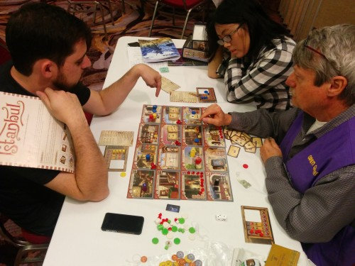 Istanbul. Always something going on in Open Gaming.