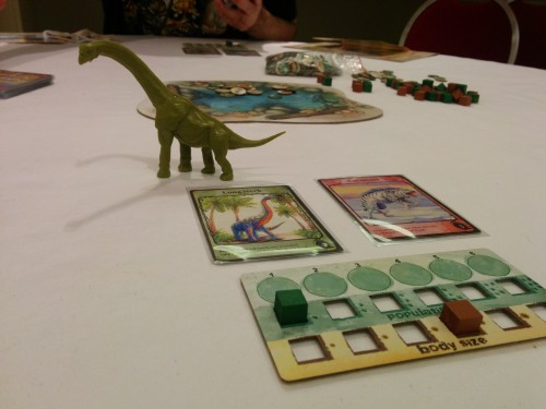 Evolution. Love the Kickstarter first-player token.