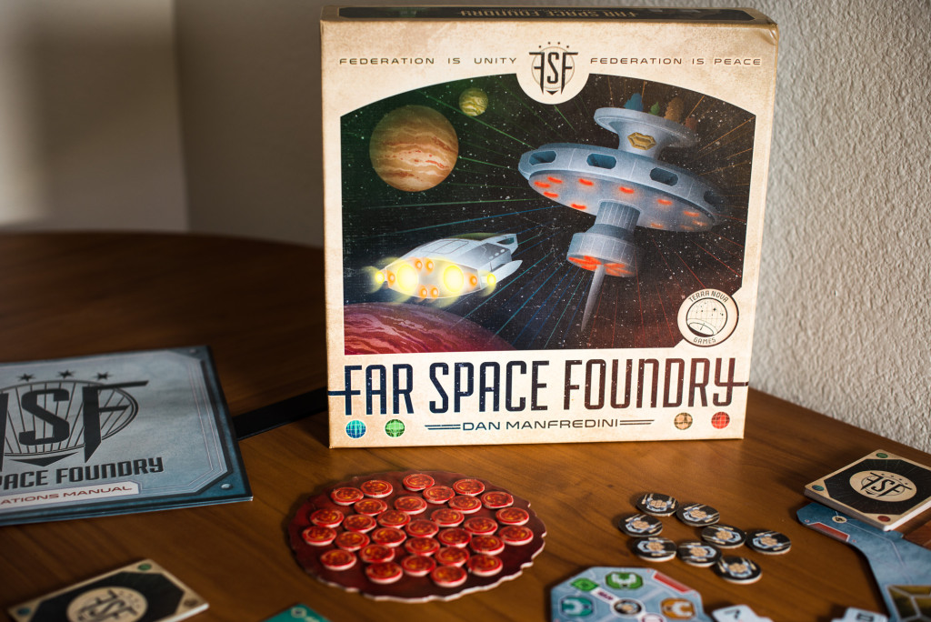 Far Space Foundry is an impressive production.