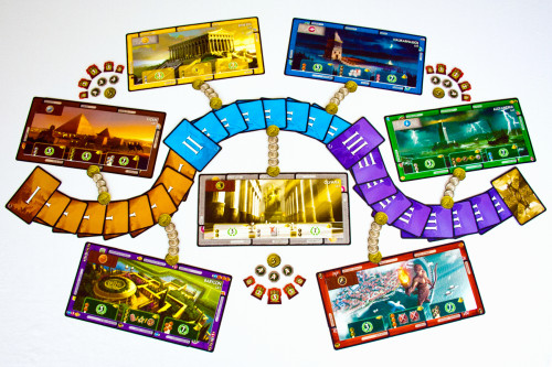 7 Wonders - Arrangement 2