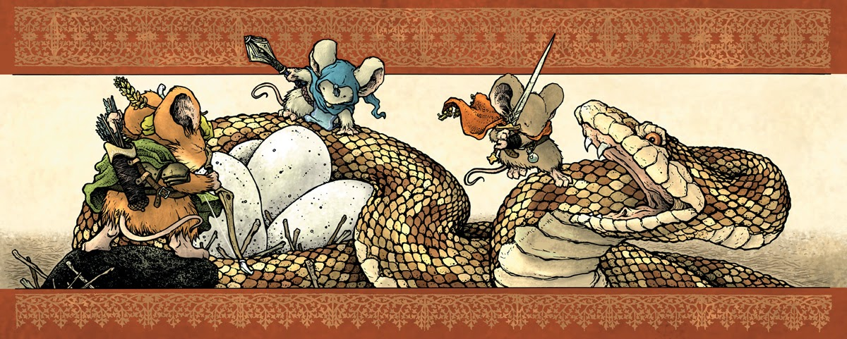 Review Mouse Guard Roleplaying Game