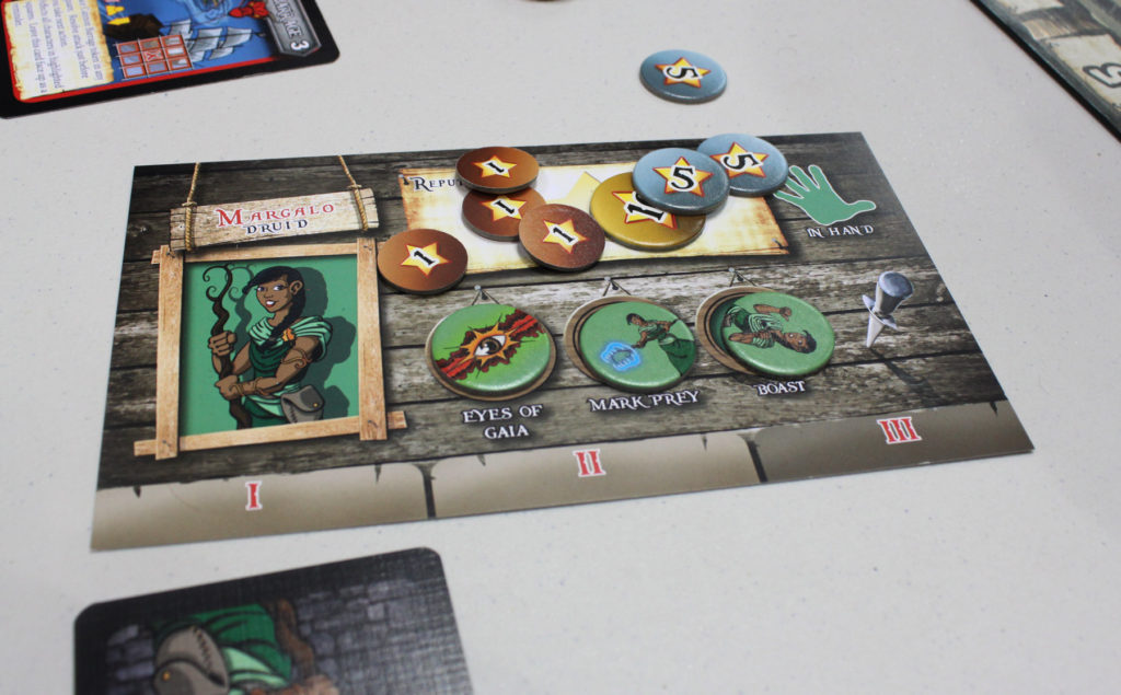 The druid can bring the wooden tables to life to attack everyone. Nice.