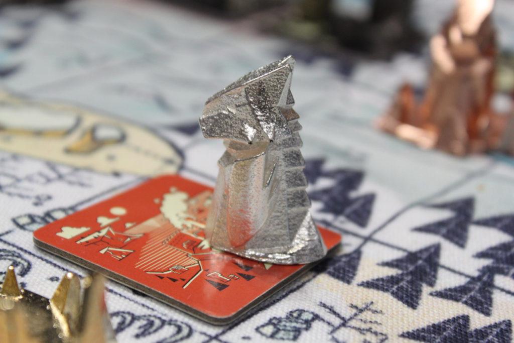 Literally a silver dragon
